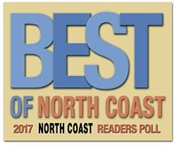 Voted Best in Home Care of North Coast 2017 & 2018